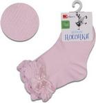 Носочки Jetem Носочки Jetem Бант с резинкой пикот-гафре  14 / 86-92  розовые