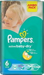 ��������� Pampers Active Baby-Dry 15+ ��, 6 ������, 54 ��