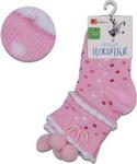Носочки Jetem Носочки Jetem Пумпон с резинкой пикот  14 / 86-92  розовые