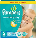 ��������� Pampers Active Baby-Dry Junior (11-18 ��) ���� ���� �������� 126