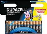 Батарейка Duracell LR 03/MX 2400-12 BL TURBO MAX AAA