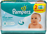 �������� ������� Pampers Baby Fresh Clean 128 ��