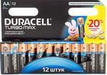 ��������� Duracell LR6/MX 1500-12 BL TURBO MAX AA