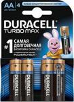 Батарейка Duracell LR6/MX 1500-4BL TURBO MAX AA