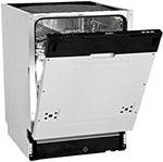 Полновстраиваемая посудомоечная машина DeLonghi