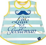 нагрудник Happy Baby LITTLE LADY & LITTLE GENTLEMAN 16004 gentelman Blue