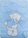 Комплект постельного белья ЗОЛОТОЙ ГУСЬ Сабина 3 предмета 100% хлопок (голубой)