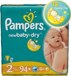 ��������� Pampers New Baby-Dry Mini 3-6 ��, 94 ��