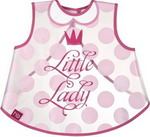нагрудник Happy Baby LITTLE LADY & LITTLE GENTLEMAN 16004 lady Pink