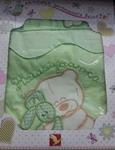 Комплект постельного белья ЗОЛОТОЙ ГУСЬ Сабина 3 предмета 100% хлопок (зеленый)