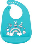 нагрудник Happy Baby BIB POCKET 16006 Blue