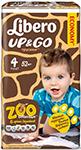 LIBERO - Up&Go макси 7-11 кг 52 шт  5515