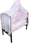Комплект постельного белья ЗОЛОТОЙ ГУСЬ Сабина 7 предметов 100% хлопок (розовый)