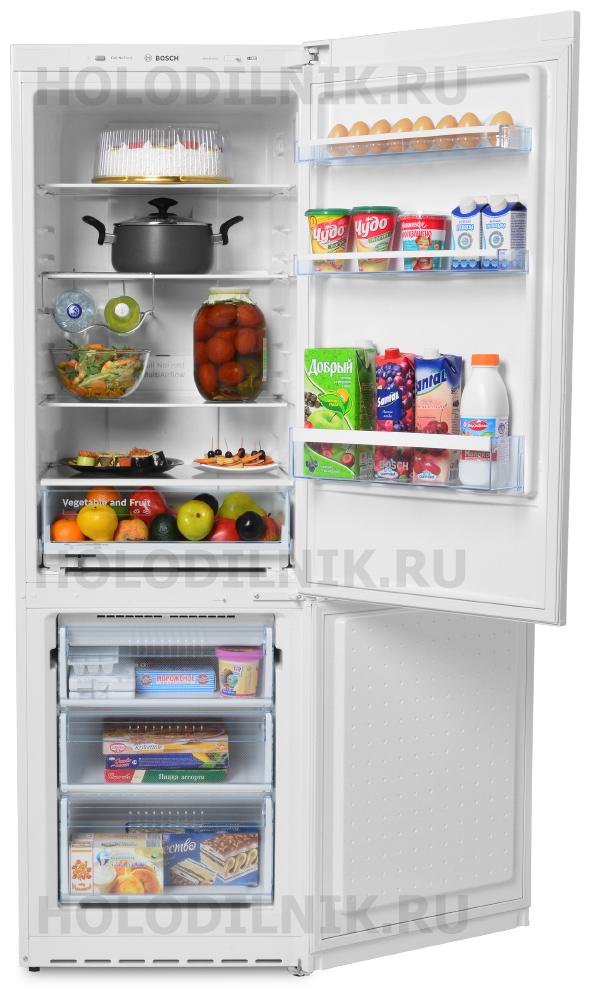 Двухкамерный холодильник Bosch