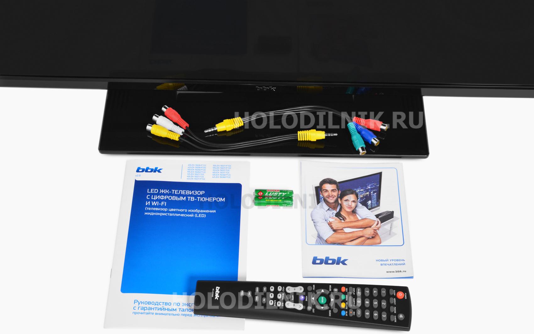 LED телевизор BBK 40 LEX-5026/FT2C черный купить в интернет-магазине Холодильник.Ру с доставкой по Тольятти, характеристики, фот
