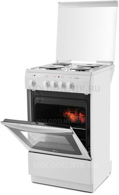 Электроплита deluxe 5004.14 кухонная бытовая электроплита стеклокерамика, какие лучше