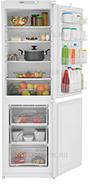 Встраиваемый двухкамерный холодильник ATLANT