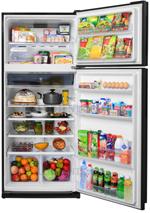 Двухкамерный холодильник Sharp Двухкамерный холодильник Sharp SJ-XE 59 PMBK черный