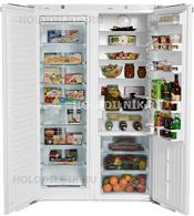 Встраиваемый холодильник Side by Side Liebherr