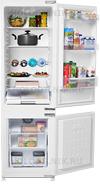 Встраиваемый двухкамерный холодильник Beko