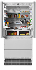 Встраиваемый многокамерный холодильник Liebherr
