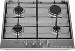 Встраиваемая газовая варочная панель Whirlpool
