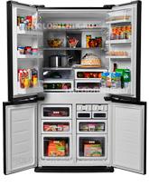Многокамерный холодильник Sharp