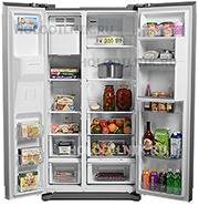 Холодильник Side by Side AEG