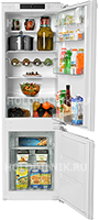 Встраиваемый двухкамерный холодильник Gorenje