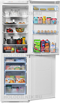 Двухкамерный холодильник Позис
