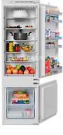 Встраиваемый двухкамерный холодильник Bosch