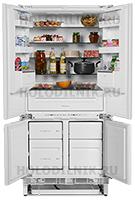 Встраиваемый холодильник Side by Side Zanussi