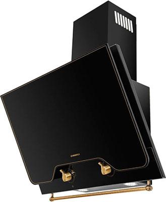 Вытяжка MAUNFELD RETRO QUADR 60 Чёрное стекло/фурнитура