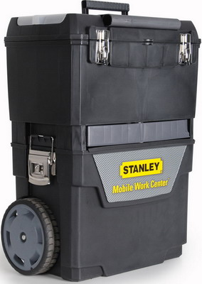 Фото - Ящик с колесами Stanley IML Mobile Work Center 2 in 1 1-93-968 360 degree round finger ring mobile phone smartphone stand holder