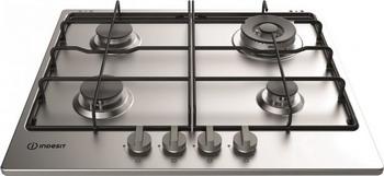 Встраиваемая газовая варочная панель Indesit THP 642 W/IX/I RU indesit thp 641 w ix i нержавеющая сталь