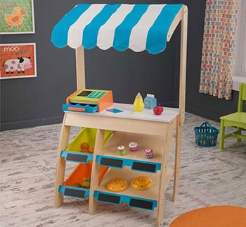 Фото - Деревянная игрушечная торговая площадка KidKraft ''Бакалея'' 53017_KE бакалея