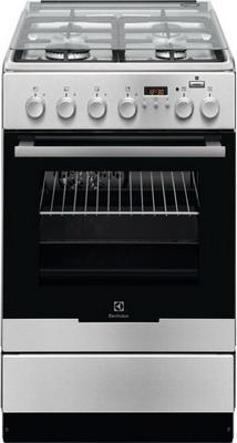 Комбинированная плита Electrolux EKK 954904 X плита electrolux ekk 961900x серый металлик