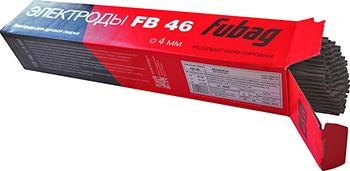 Электрод сварочный с рутилово-целлюлозным покрытием Fubag FB 46 D4.0 мм 38869 диффузор fubag f002 0078 газовый fb 150 латунь 10 шт