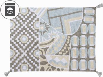 Ковер Lorena Canals Индийский Indian Bag (серый-голубой) 120*160 C-BAG-GB ковер lorena canals trace лучи лесная роза 160 d c trace wood