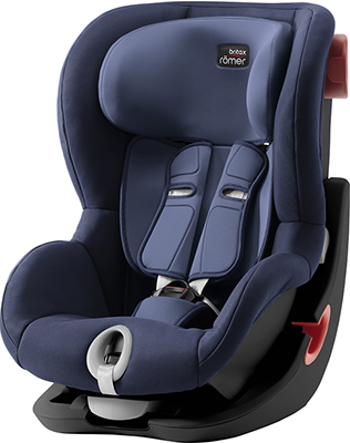 Автокресло Britax Roemer King II Black Series Moonlight Blue Trendline 2000027560 автокресло britax romer kid ii black series trendline moonlight blue 2000029682