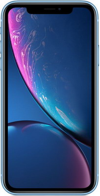 Смартфон Apple iPhone XR 128GB синий (MRYH2RU/A) смартфон iphone xr 128gb black mry92ru a
