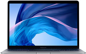 Ноутбук Apple MacBook Air 13 with Retina display Late 2018 MRE 82 RU/A Space Gray ноутбук apple macbook mid 2017 12 mnyj2 ru a retina core i5 1 3 ггц 8 гб 512 гб flash hd 615 серебристый
