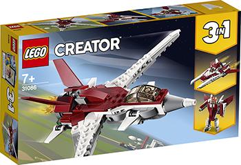 Конструктор Lego Истребитель будущего 31086 Creator 3 in 1