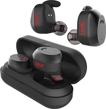 Фото - Вставные наушники Elari NanoPods Sport (HM 2065) черные кроссовки черные in extenso