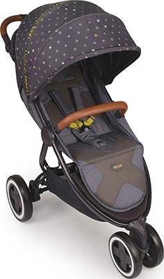 Коляска Happy Baby ''WYLSA'' GREY коляска 3 в 1 vikalex ferrone leather grey vi72253