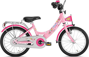 Велосипед Puky ZL 16-1 Alu 4229 Lillifee Принцесса Лиллифи puky puky велосипед 3 х колесный cat 1l lillifee