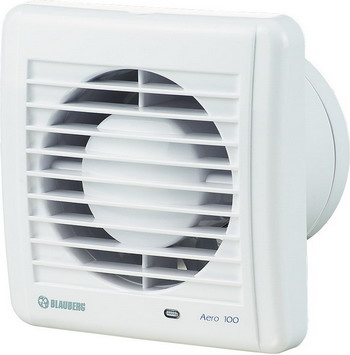 Вытяжной вентилятор BLAUBERG Aero 100 H белый цена и фото