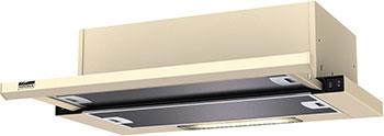 Вытяжка Krona Steel Kamilla slim 600 ivory (1 мотор) krona kamilla 600 mirror 1 мотор