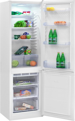 Двухкамерный холодильник NordFrost NRB 120 032 белый