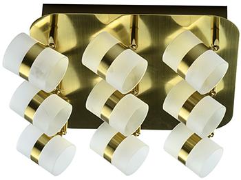 Люстра потолочная DeMarkt Этингер 704010909 45*0 5W LED 220 V